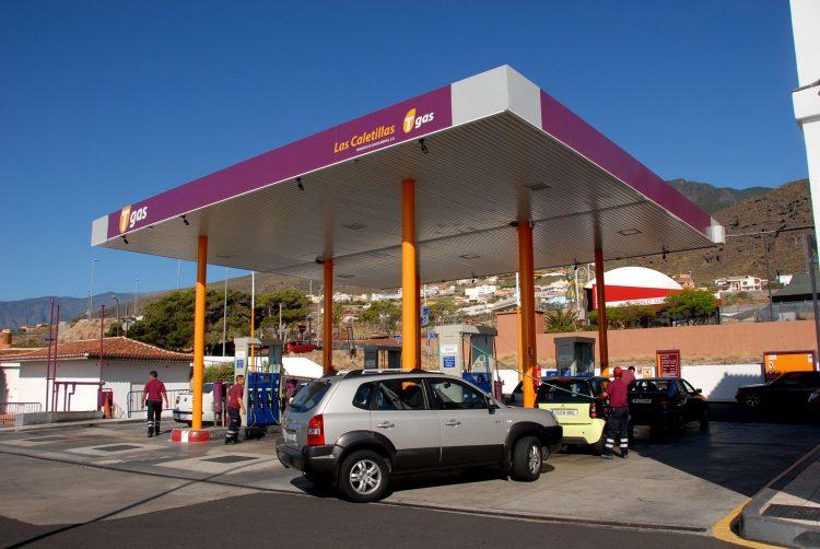 Gasolinera Tgas Las Caletillas en Candelaria