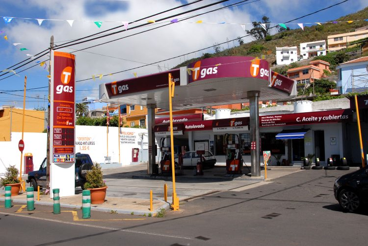 Gasolinera Tgas Las Mercedes