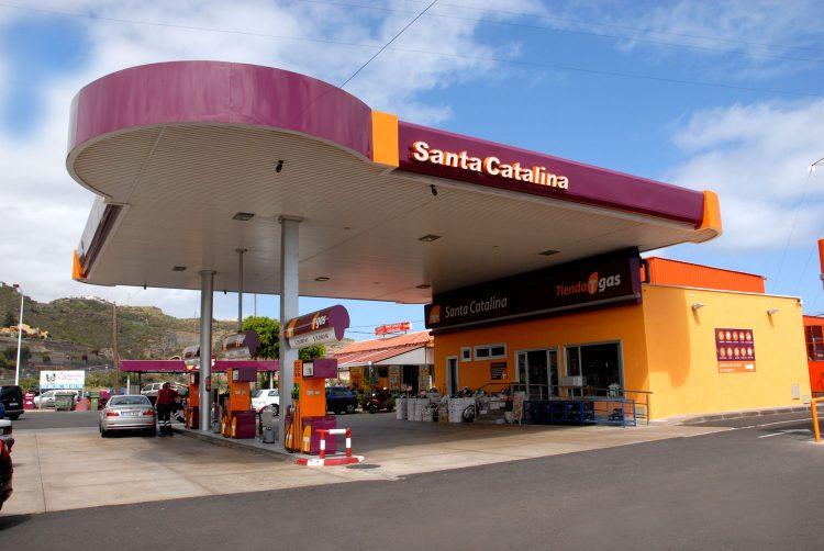Gasolinera Tgas Santa Catalina en La Guancha