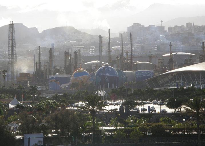 Refinería Santa Cruz de Tenerife