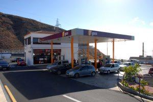 Estación de servicios Tgas Las Caletillas