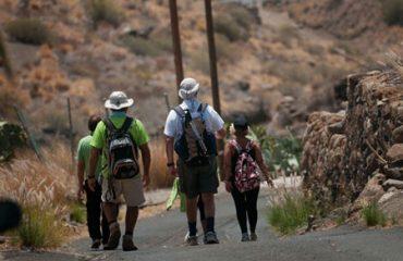 Peregrinación a Candelaria por el camino viejo