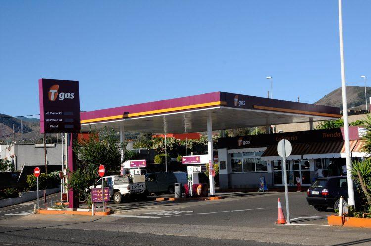 Gasolinera Tgas Los Baldíos en La Laguna