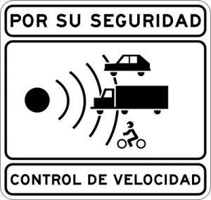 Control de velocidad en carretera convencional