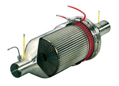 Filtro de partículas motor diesel