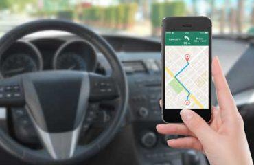 Aplicación navegación por carretera