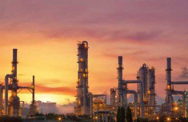 Refinería de petróleo para obtener gasolina y gasoil