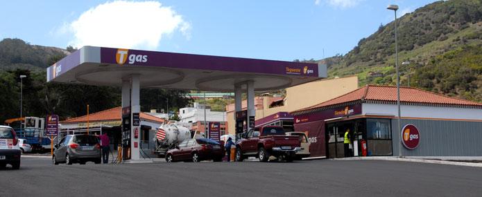 Gasolinera Tgas en Tegueste (Tenerife)