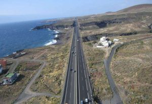 Autopista en Tenerife