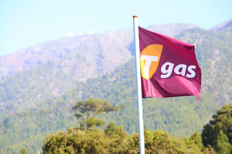 Bandera en Gasolinera Tgas