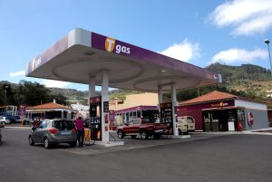 Estación de servicio Tgas en Tegueste
