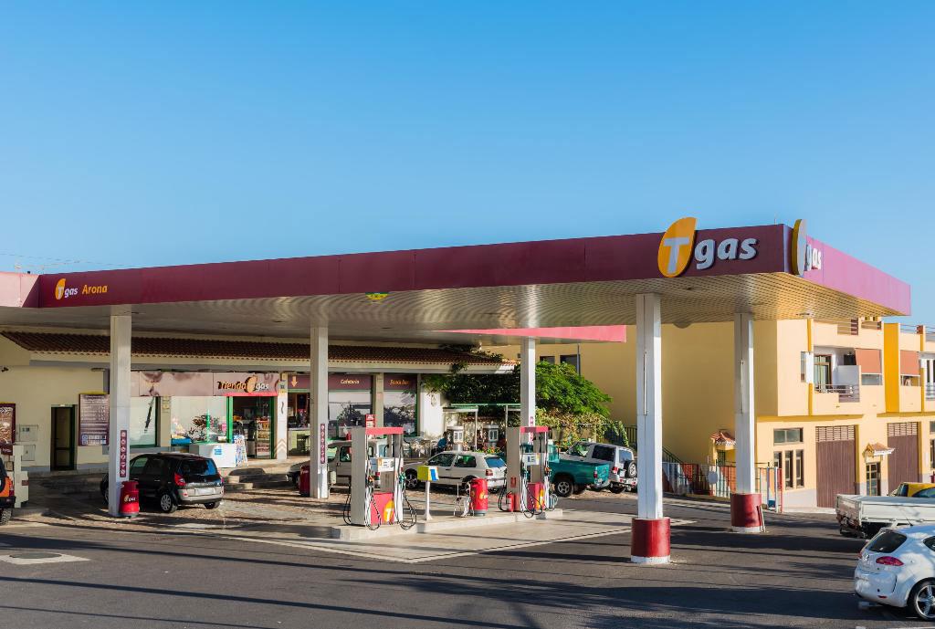 Gasolinera Tgas Adeje