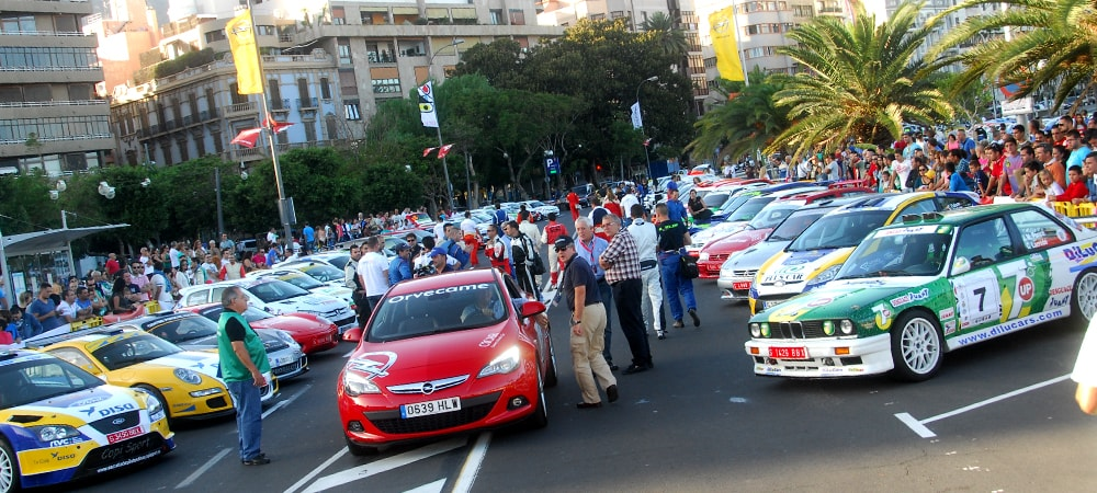 Orvecame Rally en Tenerife