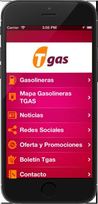 App Tgas IOs