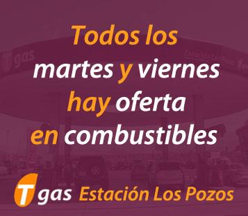 oferta combustible Tgas Las Galletas martes y viernes