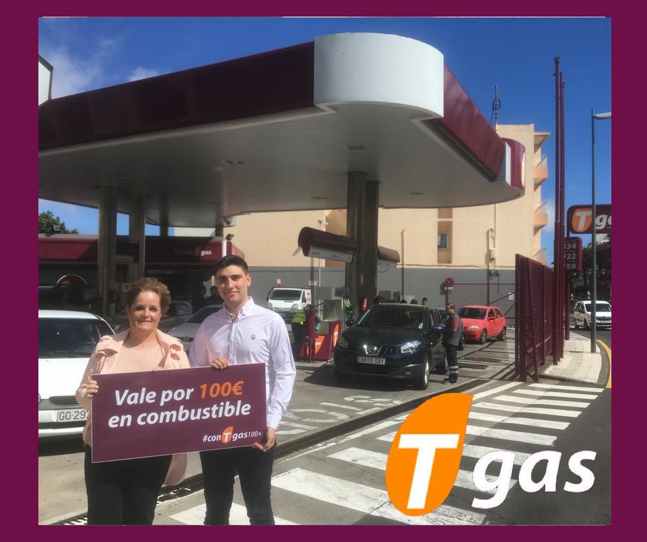 ganadora #conTgas100+ IV