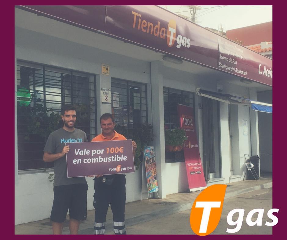 ganador #conTgas100+ estación Tgas Las Mercedes