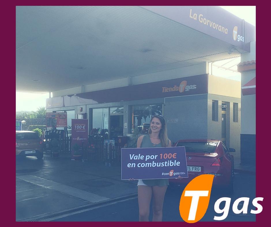 ganadora con Tgas100+ La Gorvorana