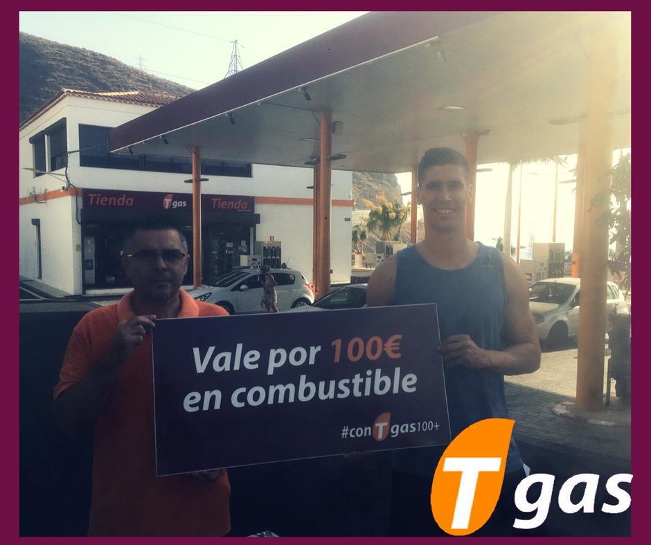 Daniel Afonso #conTgas100+ Tgas Caletillas