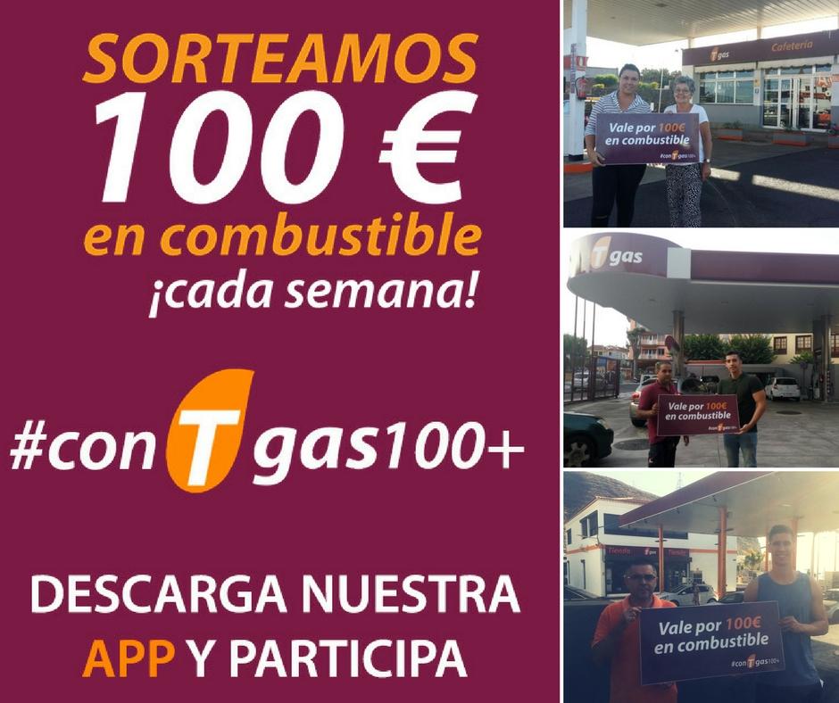 ganadores #conTgas100+ septiembre