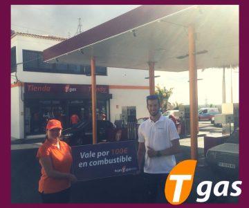 Kevin Teba, ganador #conTgas100+ enTgas Las Caletillas