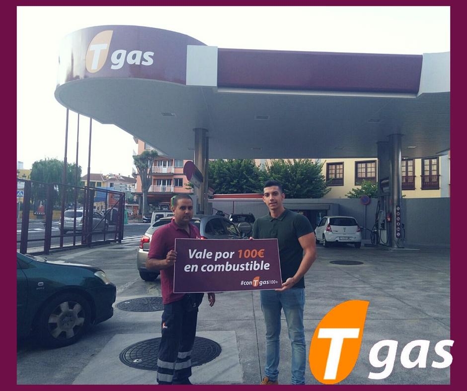 Samuel ganador #conTgas100+ Tgas Montesdeoca, La Laguna
